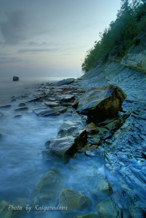 Черное море, пос. Новомихаловский