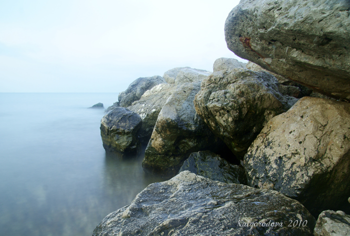 Море, рассвет