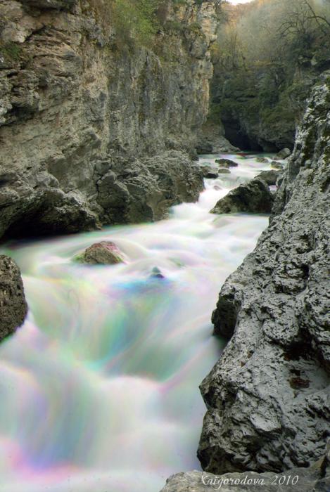 Теснина каньон Каменномостский