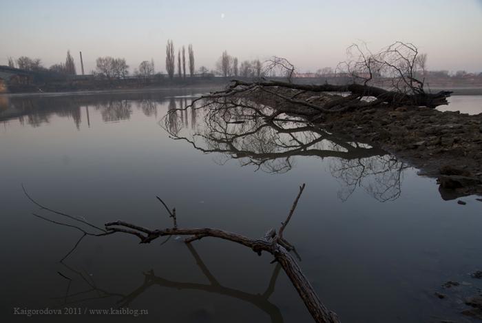 Утренняя фотоъсемка на реке