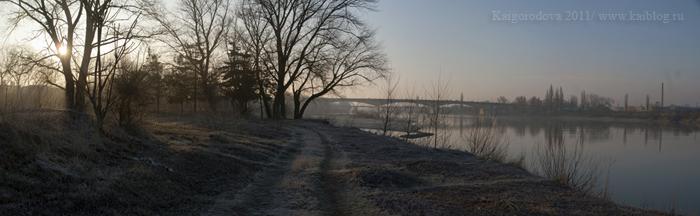 Старый мост через Кубань