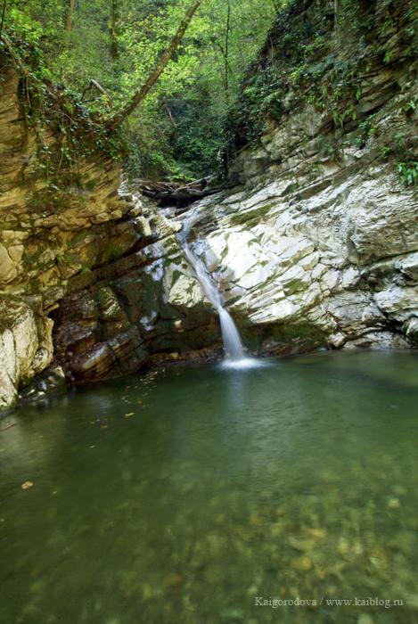 водопады на ручье Бешеный