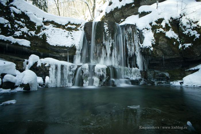 Каверзинские водопады весной