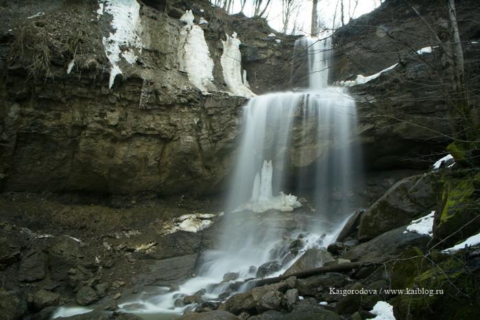 Водопад в Хадыженске