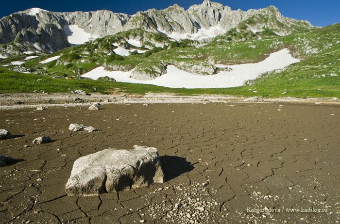 Озеро Псенодах пересохло