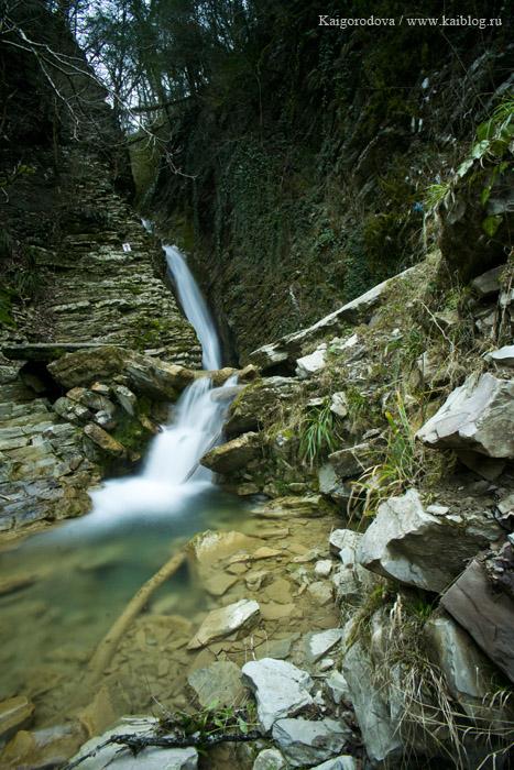 водопад в Сочи