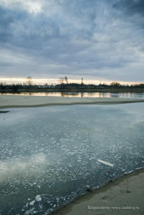 Зима на Кубань