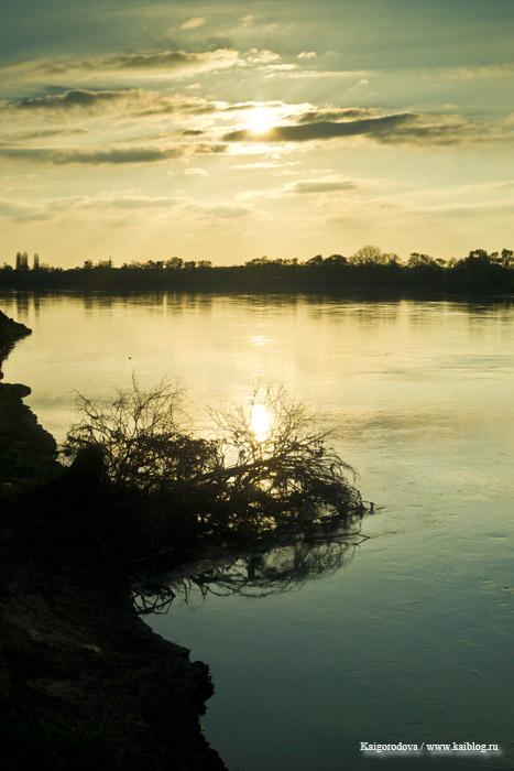 Закат в Старобжегокае