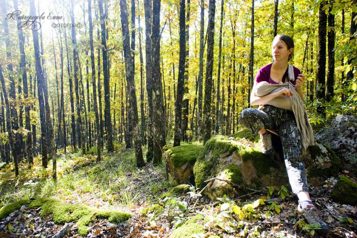 Золотая осень у подножья Планческих скал