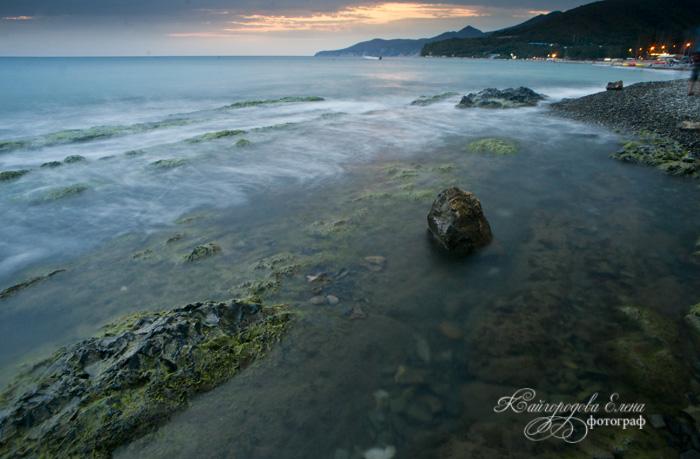 Черное море. пос. Криница